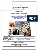 HIST1011 - Block One - Course Handbook 2019