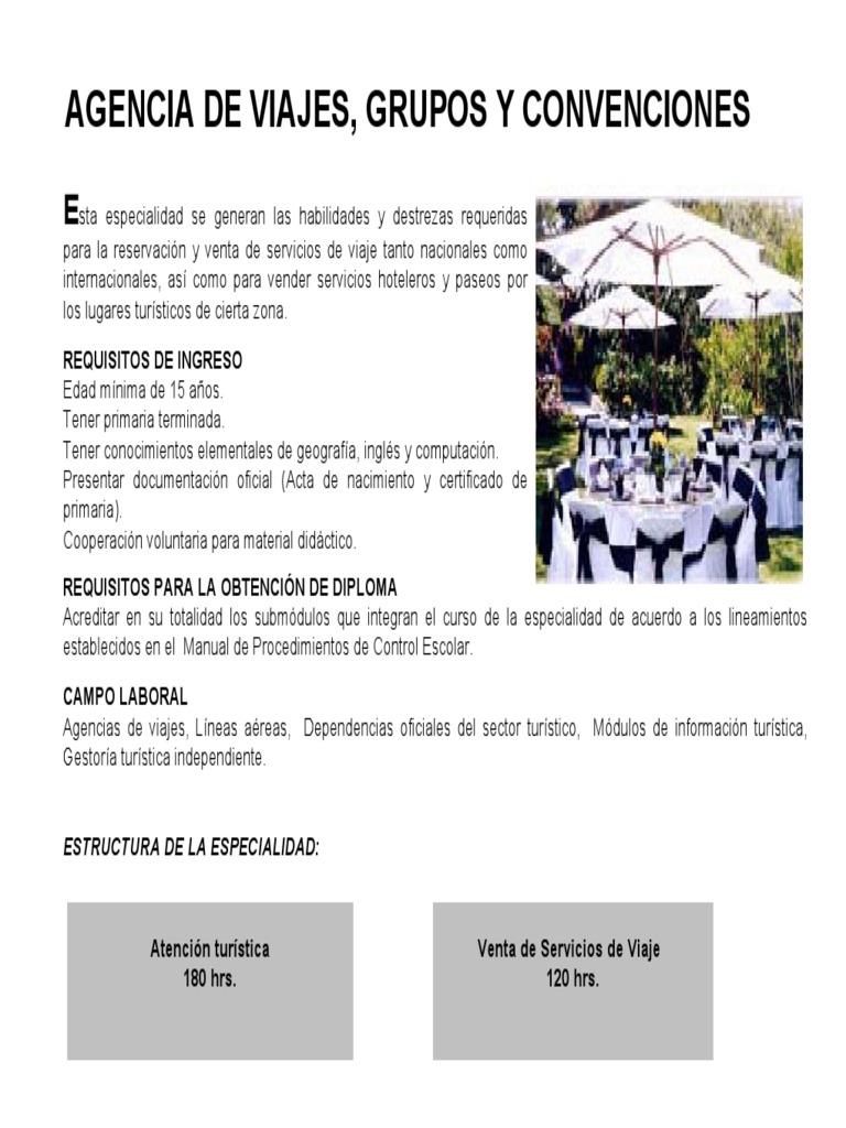 Agencia De Viajes Grupos Y Convenciones