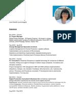 Daniela Goldman CV- Eng