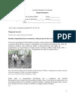 ADE - Língua Portuguesa - 1ª Série Do Ensino Médio