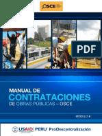 Manual de Contrataciones de Obras Publicas - OSCE Modulo II.pdf