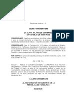 Convenio N°122 Relativo a la Politica de Empleo