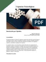 Opioides en Urgencias Toxicológicas