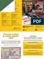 Exposició Francesc Caudet i la novel·la popular