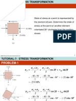 Stress Tutorial