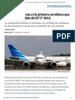 Garuda Indonesia Es La Primera Aerolínea Que Cancela Un Pedido Del B737 MAX _ Internacional _ EL PAÍS
