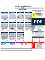 MGRSD Calendar 2019-2020