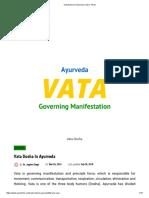 Vata Dosha in Ayurveda _ Ayur Times.pdf