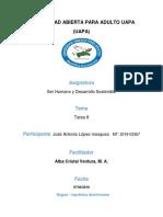 Tarea 8 - Ser Humano y Desarrollo Sostenible - Jose Antonio.docx