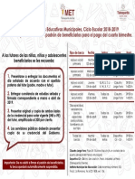 BECAS MUNICIPALES TLALNE ABRIL 2019