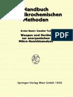 A. A. Benedetti-Pichler, Friedrich Hecht auth. Waagen und Wägung; Geräte zur Anorganischen Mikro-Gewichtsanalyse.pdf