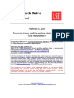 Welfare-London School Economics