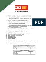 Doc28026 Normativa de Les Eleccions Sindicals