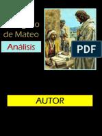Análasis - Libro de Mateo