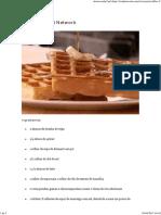 Waffles - Food Network