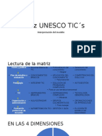 MATRIZ UNESCO TICS