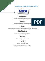Tarea I Educacion para la Diversidad.docx