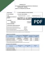 formato de registro foniprel