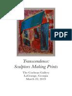 transcendence sculptors making prints catalog compressed