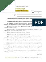 ADE - Matemática - 7º Ano Do Ensino Fundamental