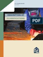DescriptionOfClassifications