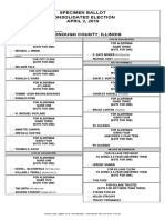 McDonough County Sample Ballot