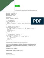 Lista de Tipos Abstratos de Dados