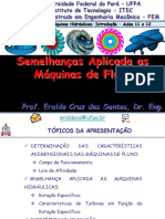 Turbomáquinas Hidráulicas - Aulas 11 e 12 - Semelhança Aplicada as Máquinas de Fluxo - ECS.pdf