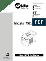 User Manual Maxstar 152