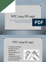 NTC 2194 de 1997Andres Felipe