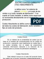 Dif CDirecto y C Absor