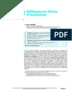 Méthode des différences finies pour les EDP évolution.pdf