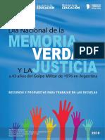 24-Dia Nacional de La Memoria 2018