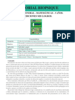 PG Plan General Matematicas 3 Anos Ediciones Mis Logros