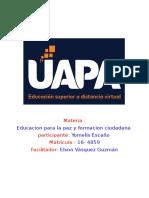 Tarea 2 Educacion Para La Paz y Formacion Ciudadana