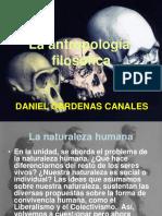 Antropología Filosófica 2010 i Daniel Cardenas Canales