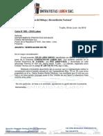 Carta Verificacion Pb