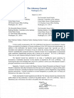 Mueller report: Atty. Gen. William Barr's letter to Congressional committees