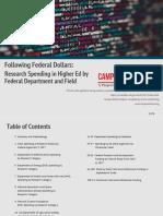 Following Federal Dollars
