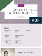 Mujeres en Ciencia & Tecnología