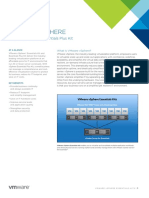 Vmware Vsphere Essentials Kits Datasheet