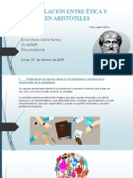 La Vinculación Entre Ética y Política en Aristóteles