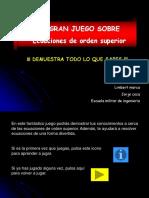 JUEGO Ecuas