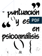 Puntuación y estilo en psicoanálisis [Albert Fontaine et al.].pdf