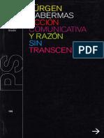 Acción comunicativa y razón sin trascendencia.pdf