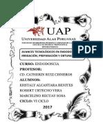 AVANCES TECNOLÓGICOS EN ENDODONCIA EN IRRIGACIÓN.docx