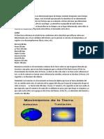 Tiempo Meteorológico                                                                                                                                             El estado de la atmósfera en un determinado lapso de tiempo.docx