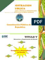Constitucion de La Republica Titulo v