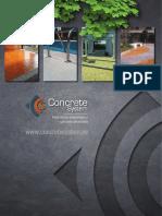 Concreto decorativo - Concrete System Peru