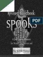 Guildbook Spooks Revised